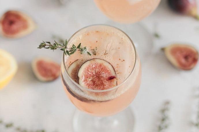 Festive aperitivo