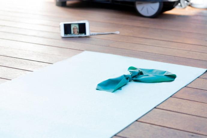 Pilates matwork class image