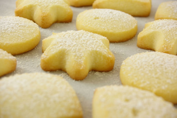 Scottish Shortbread image for baking class