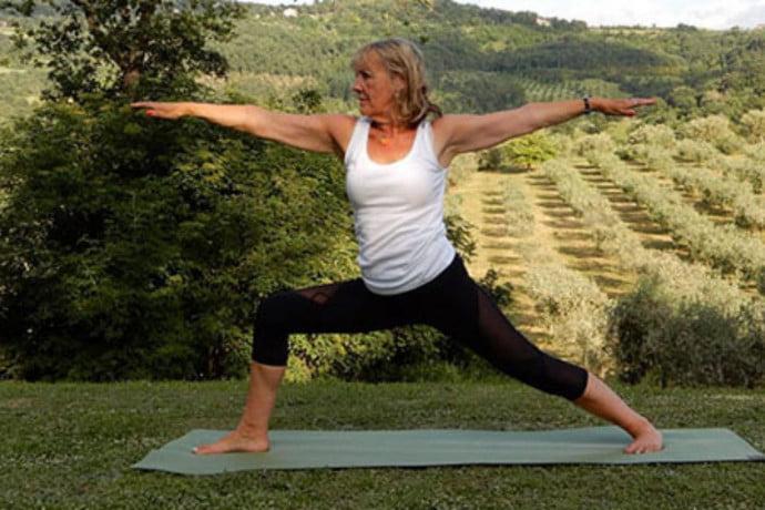 Aggie Yoga practice