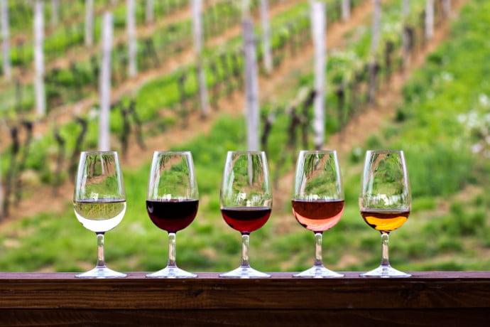 Wine tasting corporate
