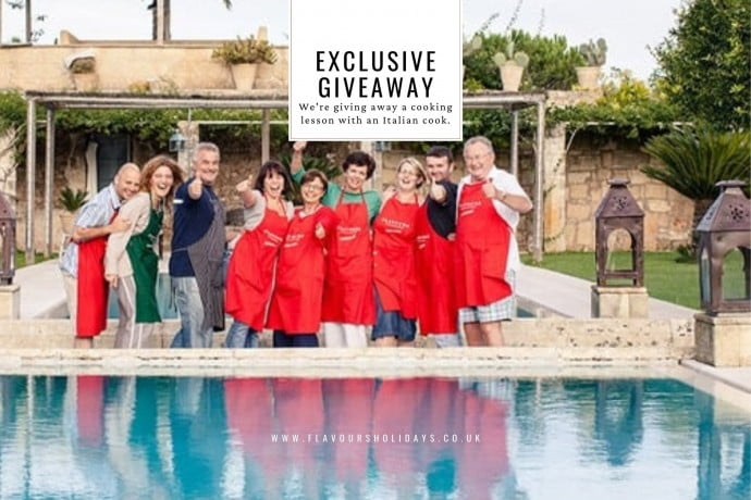 Giveaway Cooking lesson