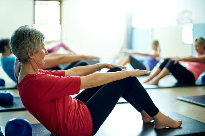 Hips and core pilates