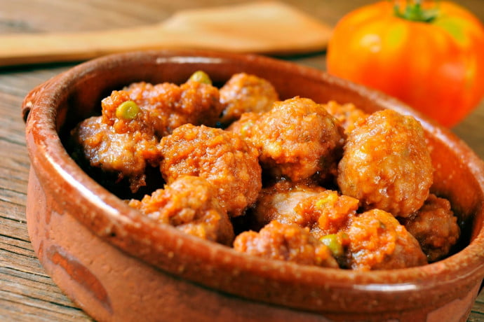 Meatballs in a Spanish Sauce